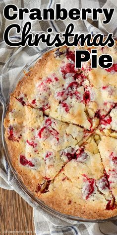 Pie recipes 24066179245857268 - This might be the EASIEST pie you'll ever make – and everyone who tastes it begs for the recipe! Source by barefeetkitchen Easy Holiday Desserts, Holiday Baking, Christmas Desserts, Just Desserts, Holiday Recipes, Delicious Desserts, Christmas Recipes, Christmas Pies, Xmas