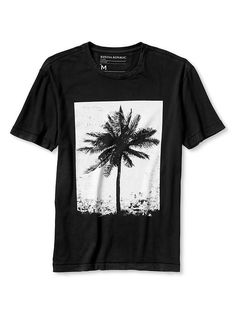 Palm Tree Graphic Tee Product Image