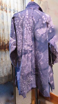 Diane Ericson Design - bleached denim with raw edges