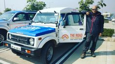 At #Chandigarh Ai­rport,  waiting for #TRLT guests.    Getting rea­dy for #TRLTSnowLeopardTrail with #CEATRoadTrip­.