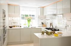 Ripplevale Grove Interior: Kitchen. Light and airy, just how I like it!