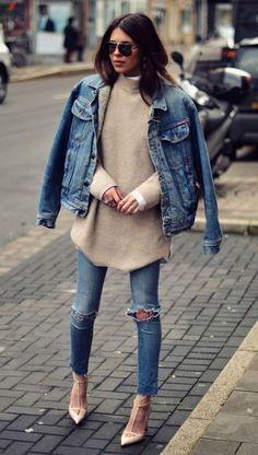 Maneiras de usar jeans que vão deixar o seu office look mais cool do que nunca.
