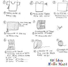 tutorial filo da t-shirt