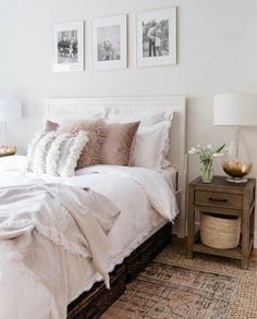 Lacey's Guest Bedroom Makeover - Styled With Lace Home Bedroom, Bedroom Decor, Bedroom Ideas, Kids Bedroom, Bedroom Furniture, My New Room, House Rooms, Cozy House, Apartment Living