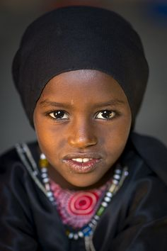 Beautiful child - Miss Saida Mohamed, Assayta, Ethiopia by Eric Lafforgue on Flickr.