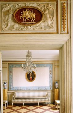 charming suite--18th C neoclassical details