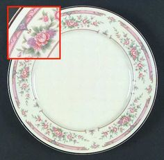 """""""Atherton"""" china pattern from Royal Worcester."""