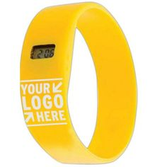 Imagine your logo on this great functional bracelet.
