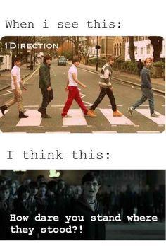 Hahaha I hate them (not the Beatles)