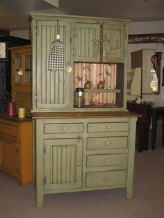 Large Hoosier Cabinet via Carolina countryfurniture.com