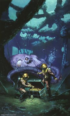 I loved this book as a child...read it over and over. 20000 leagues under the sea | 20,000 Leagues Under the Sea - ? Matt Stawicki