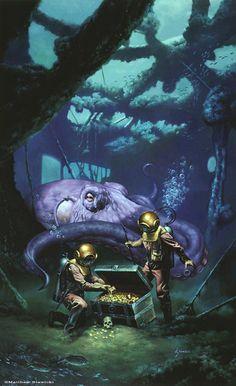 20000 leagues under the sea   20,000 Leagues Under the Sea - ? Matt Stawicki