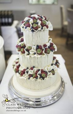 All types of wedding cakes, even some made from cheese!