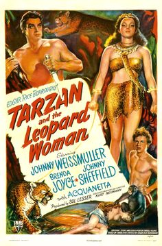 Tarzan and the Leopard Woman movie poster