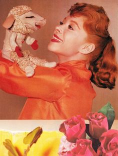 SHARI LEWIS master puppeteer and Lamb Chop. Her books, records, DVD's & Emmy Award winning TV series appealed to generations of children all over the world. clipping (minkshmink)