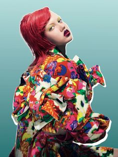 Lindsey Wixson by Pierre Debusschere for Dazed & Confused October 2013  1