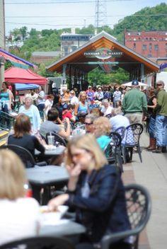 """A Cincinnati Saturday"" via stylezedexistence.com  Findlay (pronounced fin-dlee) Market, which is located in the Over-The-Rhine neighborhood of Cincinnati. #urban"