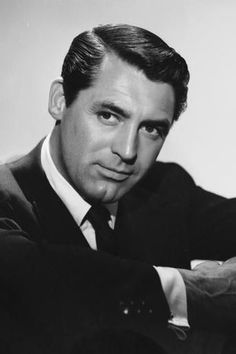 """Cary Grant was an English born stage and film actor who became an American citizen in Known for his transatlantic accent, debonair demeanor and """"dashing good looks."""" Grant is considered one of classic Hollywood's definitive leading man. Hollywood Stars, Hollywood Actor, Classic Hollywood, Old Hollywood, Old Movie Stars, Classic Movie Stars, Classic Films, Classic Style, Cary Grant"""
