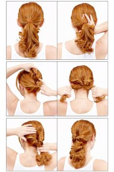 Hairstyles for busy mothers