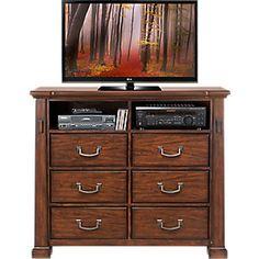 Clairfield Tobacco 5 Pc King Panel Bedroom-King Bedroom SetsDark Wood