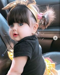 Cutie baby Stylish hairs Cute Dp The post Cutie baby Stylish hairs Cute Dp appeared first on Wallpaper DPs. So Cute Baby, Cute Little Baby Girl, Cute Kids Pics, Cute Baby Girl Pictures, Baby Kind, Little Babies, Baby Baby, Baby Girls, Beautiful Children