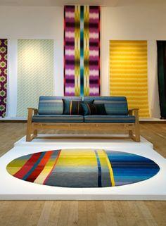 Ptolemy Mann rugs. Terrific color!