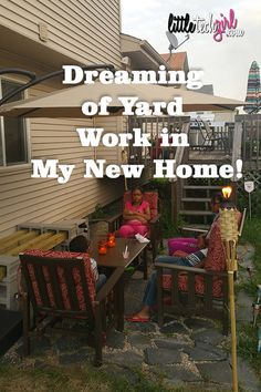 Dreaming of Yard Work in My New Home! http://littletechgirl.com/2016/10/19/dreaming-yard-work-new-home/ #SteelMatters #ad