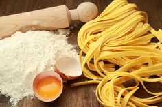 Learn how to make pasta dough by hand, with a food processor or with an electric mixer dough hook. Instructions include rolling out pasta dough by hand or with a pasta machine. Italian Dishes, Italian Recipes, Pili Nut, Make Your Own Pasta, Cooking Courses, Pasta Maker, Fresh Pasta, Homemade Pasta, Baking Ingredients