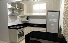 projeto cozinha americana