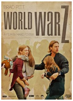 "Faux Movie Poster: ""World War Z"" as an indie film; btw, READ THIS BOOK!"