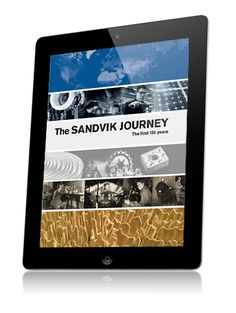 This anniversary app has been published by Sandvik AB to describe the history and development of the company, with a view to the future. Publication is in connection with the celebration of the company's 150th jubilee.