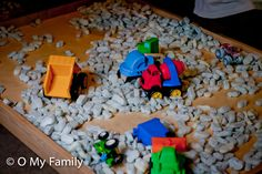Toddler Construction #Birthday Party
