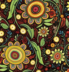 julie paschkis fabric - Google Search