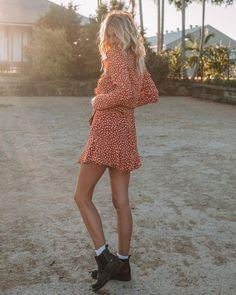 "... ⠀⠀⠀⠀⠀⠀⠀⠀⠀⠀ K I V A R I on Instagram  ""Sunsets and spots ✧ our Kivari  babe  staceyyallen in the Zahara Spot Blouse and Mini Skirt ✧"" bb795c33fb"