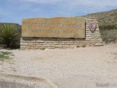 Carlsbad Cavern National Park Sign