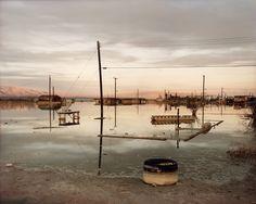 Richard Misrach; Flooded House Foundation, Salton Sea