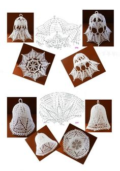 196 - 197 Crochet Angels, Crochet Art, Thread Crochet, Crochet Doilies, Crochet Flowers, Crochet Snowflake Pattern, Christmas Crochet Patterns, Holiday Crochet, Crochet Snowflakes