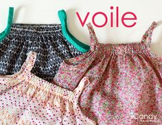 Tiny Tank Dress tutorial and free pattern from Voile