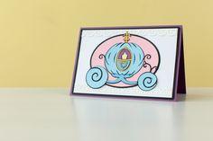 Disney Cinderella Card. Make It Now with the Cricut Explore machine in Cricut Design Space.