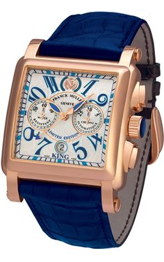Franck Muller Conquistador Cortez Chronograph 10000 K SC Conquistador, Franck Muller, Swiss Army Watches, Beautiful Watches, Elegant Watches, Casual Watches, Stylish Watches, Luxury Watches For Men, Cool Watches