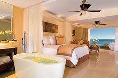 Junior Suite Preferred Club Ocean View at Dreams Villamagna Nuevo Vallarta.
