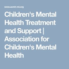 This article from the Association for Children's Mental Health lists and describes the many different ways mental illness can be treated. By knowing different modes of treatment you can find the right course of action for each client.