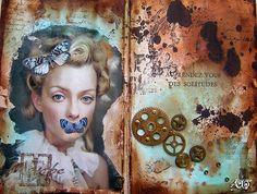 "anne le toux - ""solitude"", mixed media, 2009"