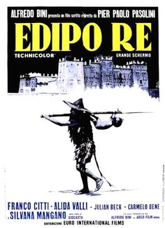 """Edipo Re"" Pier Paolo Pasolini"