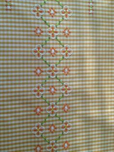Inspiration for chicken scratch - broderie suisse Cross Stitching, Cross Stitch Embroidery, Embroidery Patterns, Hand Embroidery, Cross Stitch Patterns, Chicken Scratch Patterns, Chicken Scratch Embroidery, Bordado Tipo Chicken Scratch, Sewing Crafts