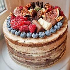 Морковно-шоколадный торт