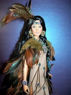 native American Barbie for Fall