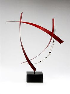 C: Cheryl Williams: Metal & Pearl Sculpture - Artful Home...love the movement and airy feel