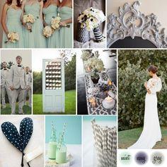 mint and navy blue wedding | http sbdva com wedding wednesday mint navy and grey