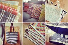 Their graphics are amazing! shapes and colors textiles - Home